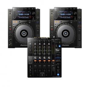 CDJ-900 Nexus [2 st] + DJM-750 MK2 + Case PKT 1 / 5