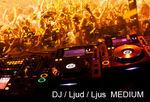 DJ / Ljud / Ljus  MEDIUM Företagsevent [max 4 tim]